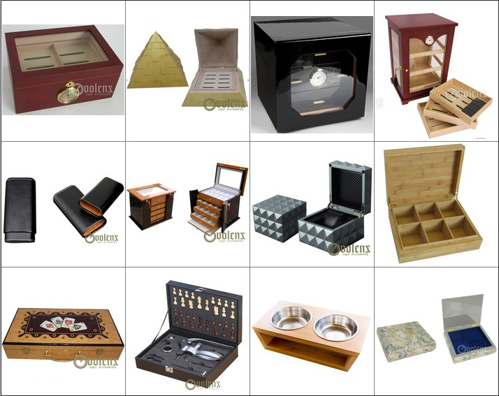 Leather Cigar Box for women WLL-0004 Details 11