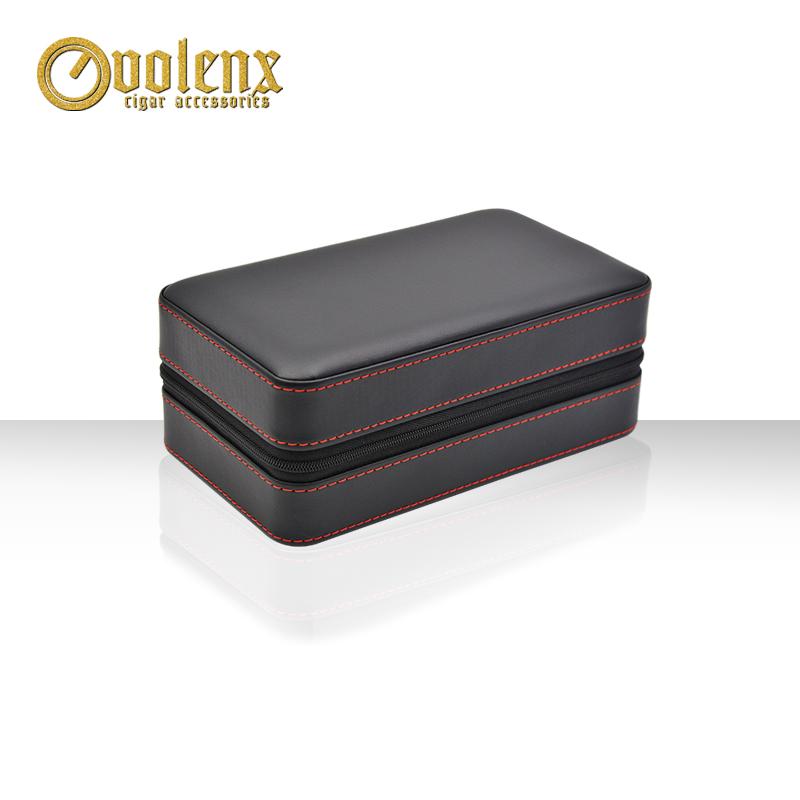 Portable-6-CT-PU-Leather-Cedar-Wood