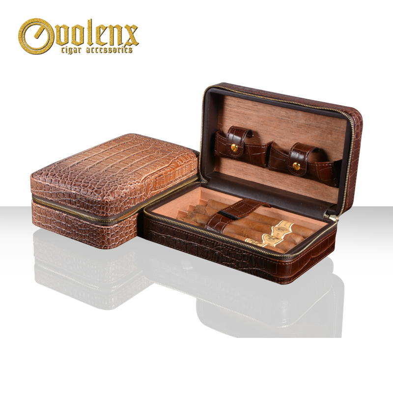 Hot-Sale-Crocodile-Leather-Portable-Travel-Cigar