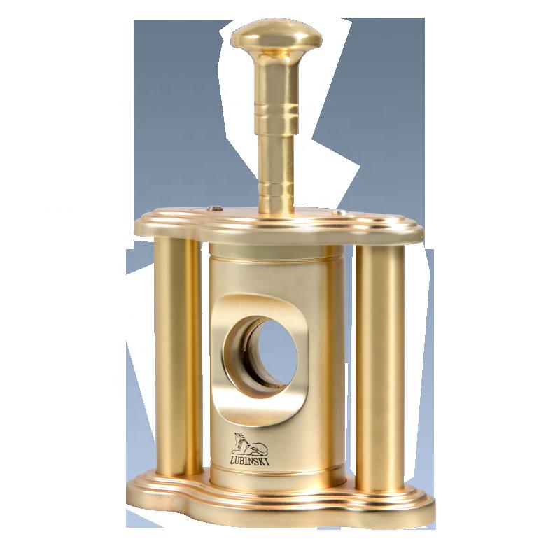 Custom-Logo-Gold-Metal-Guillotine-Table-Top