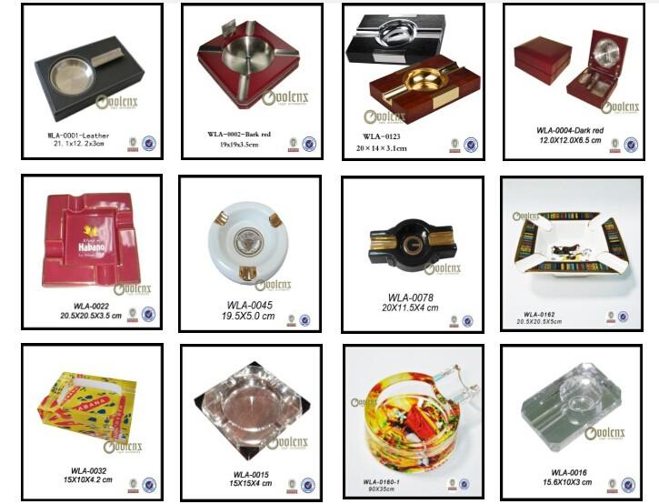 Custom V-shape plastic and stainless steel  cigar cutter 11