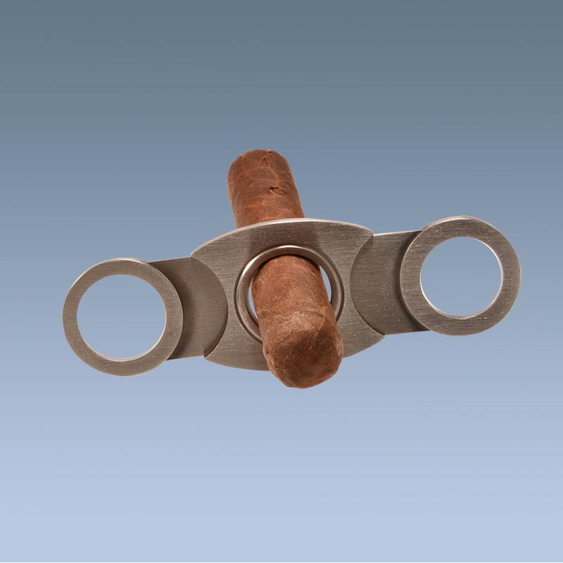 930 Grade Silver Cheroot Or Cigar Cutter