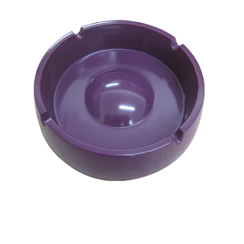 Custom Melamine Round Portable Ash Tray