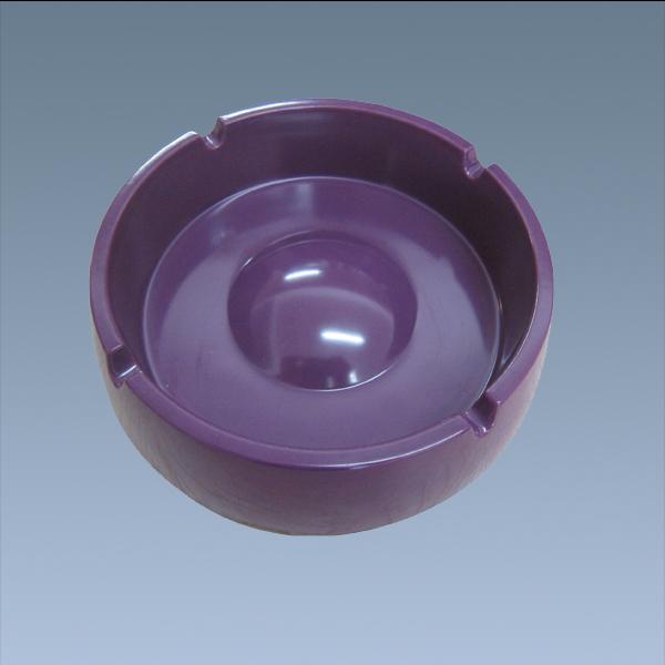 Wholesale Custom Purple Melamine Cigar Ashtray