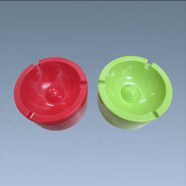 Colorful Melamine Unbreakable Astray With Lid Custom Logo