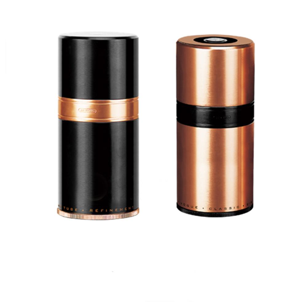 Custom Steel Round Aluminium Cigar Travel Tube