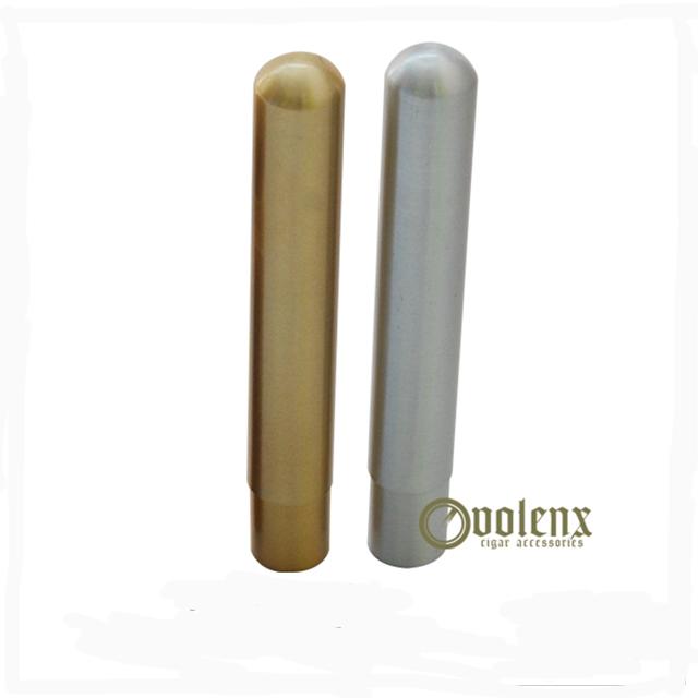 Custom Aluminum Simple Empty Packaging Cigar Tube