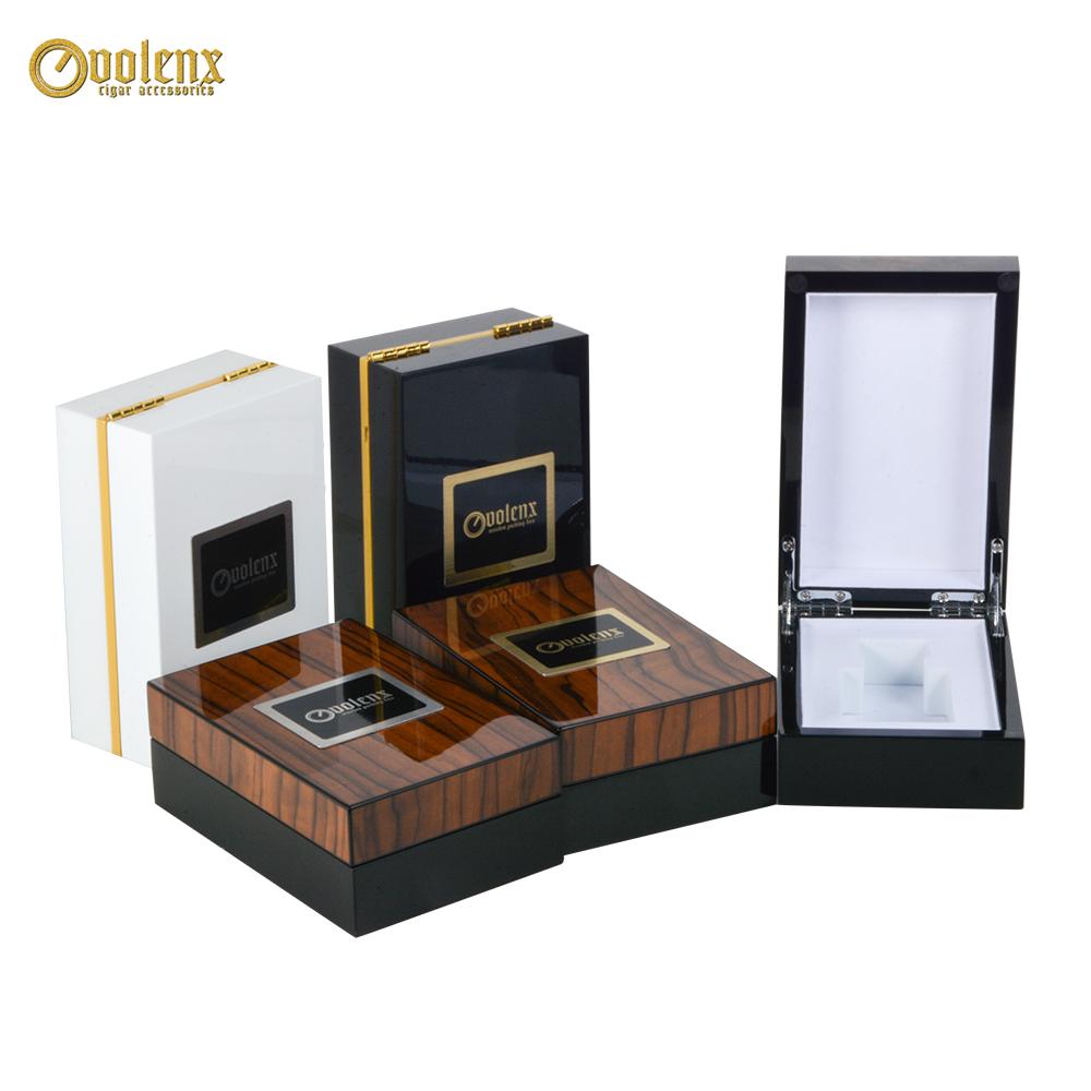 New design Decoration jewelry wooden single perfume box