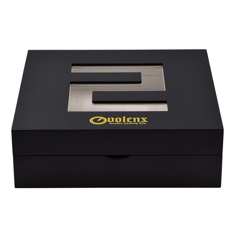 Luxury perfume gift box custom acrylic perfume display box