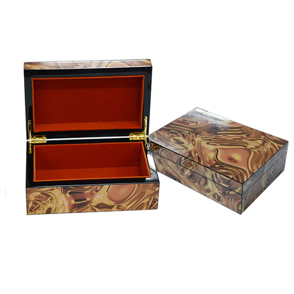 Custom Wooden Luxury Empty Jewelry Packaging Box