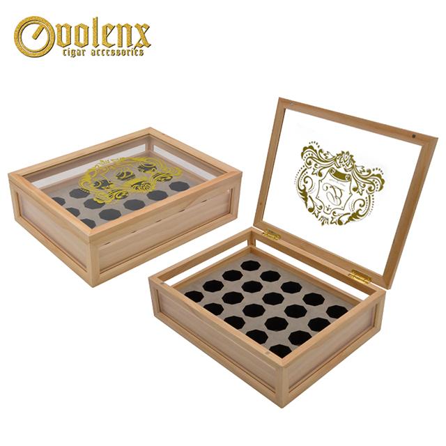 2018 Luxury Wooden Chocolate Packaging Box