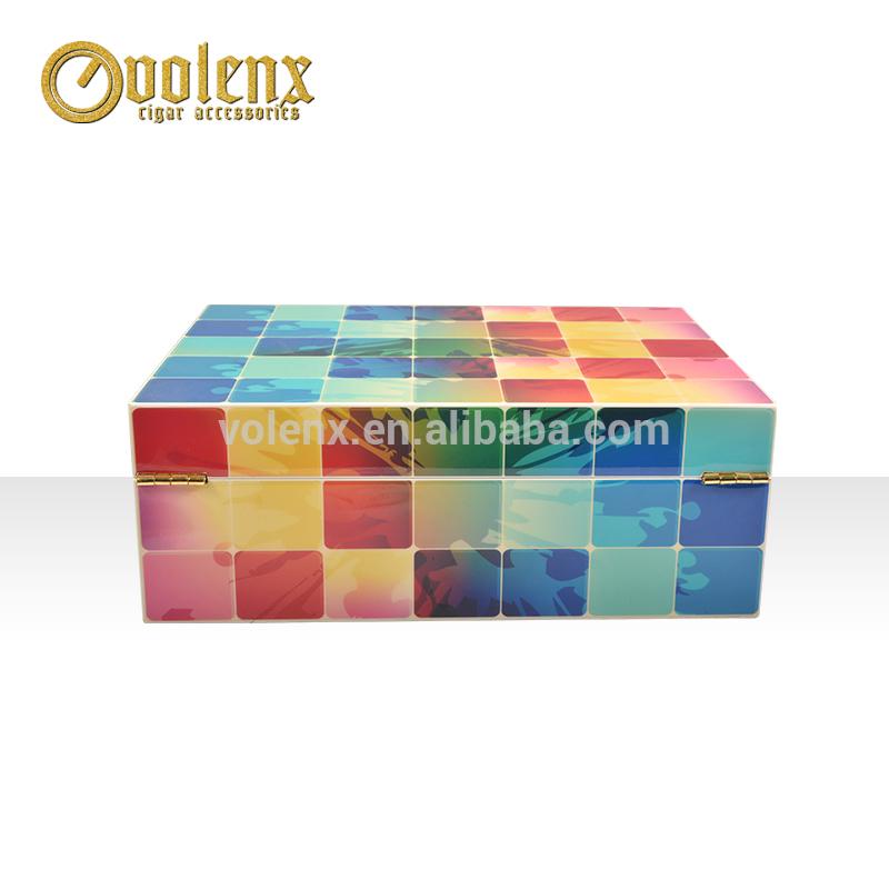 Hot Sale Wooden Custom Jewelry Packaging Box Logo Printed