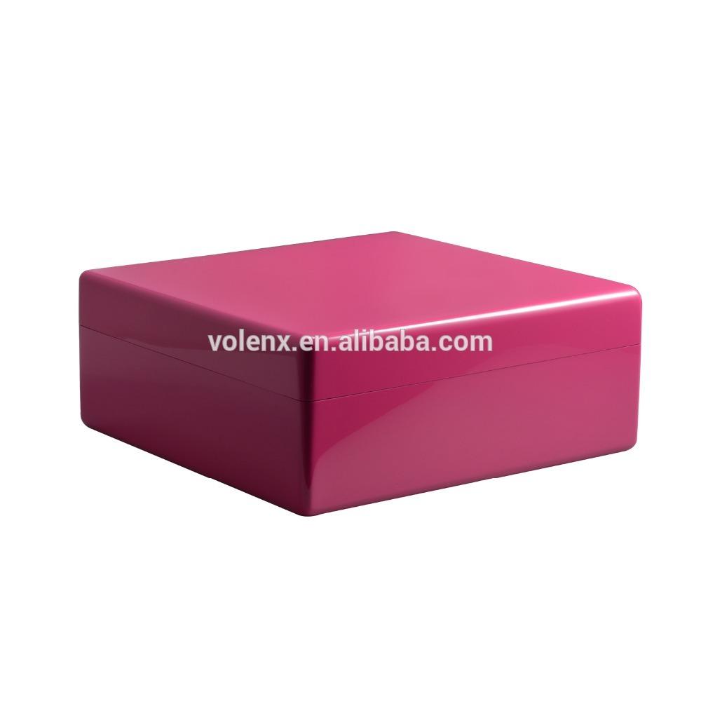 OEM luxury Jewelry box wooden custom with logo