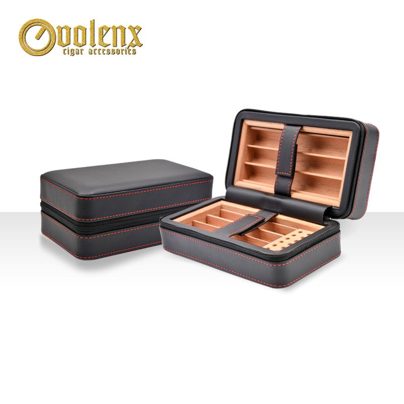 Handmade-wood-case-travel-cigars-humidor-cigar