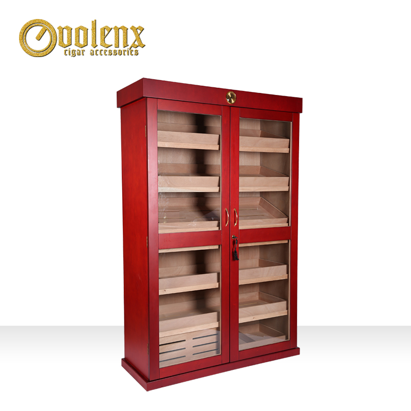 Custom-large-wooden-cigar-cabinet-for-display