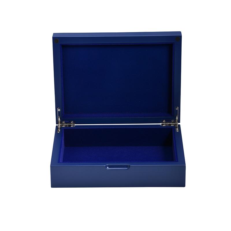 High quality rainbow Jewelry Storage wooden jewellery gift boxes jewel box wedding