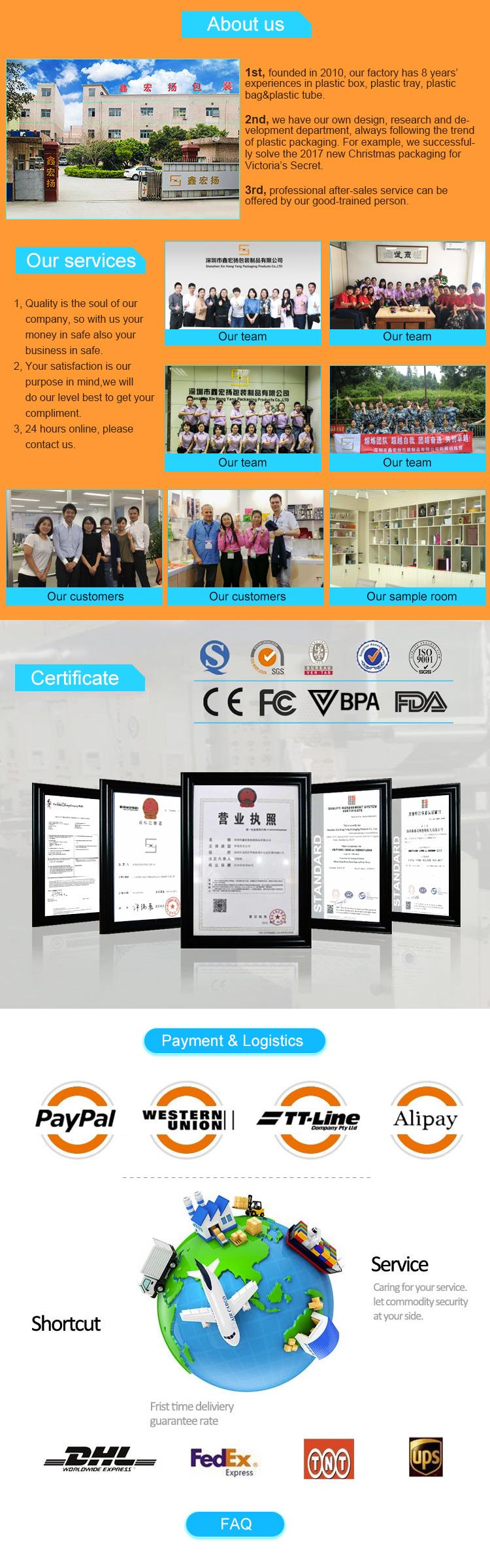 Shenzhen Xin Hong Yang Packaging Products Co. 9